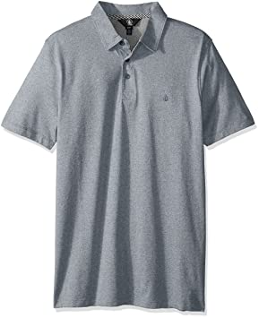 Volcom Wowzer Camiseta Azul Polo Camisa  Amazon.es  Deportes y aire libre 30f6627773b63