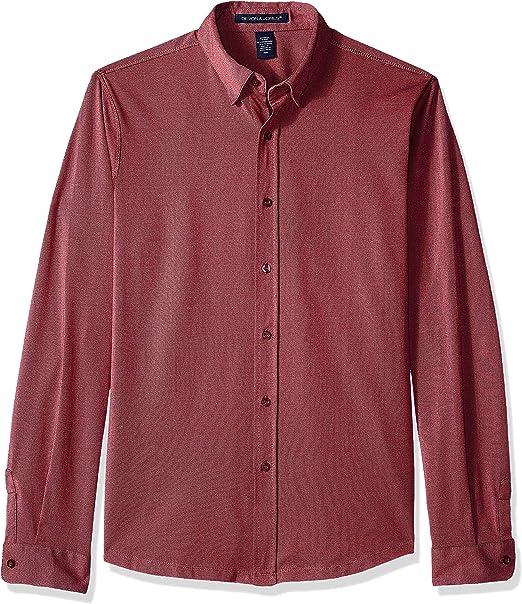 D /& Jones Mens Pima Piqu Short-Sleeve Y-Collar Polo