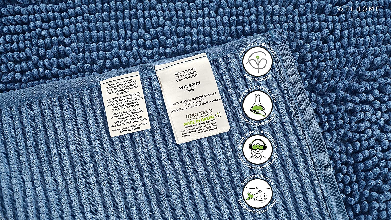 STRIR Alfombrilla de Ba/ño Antideslizante Microfibra Suave Alfombra Lavar a Maquina Adecuado para Sala de Estar//Cocina A Dormitorio de Interior//Exterior
