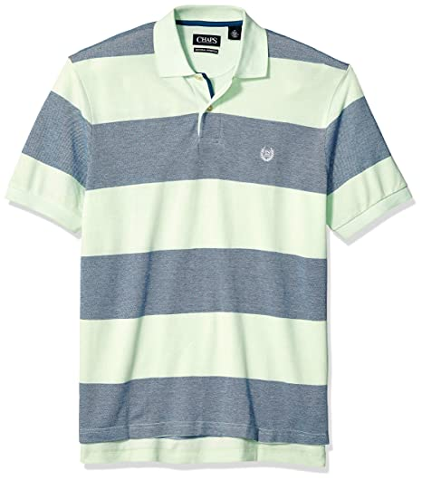 6dc58dca Chaps Men's Classic Fit Cotton Pique Polo Shirt