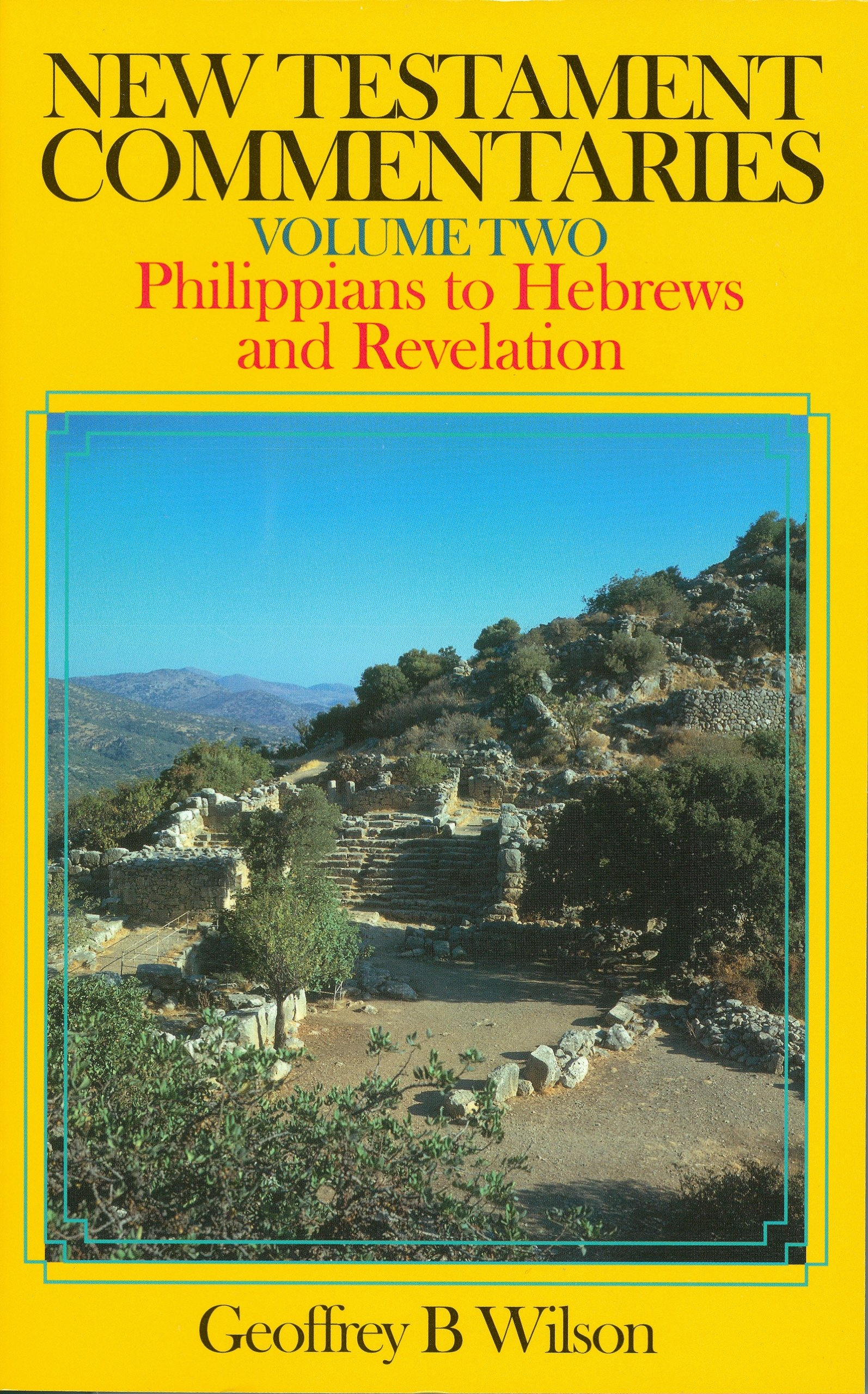 Download New Testament Commentaries, Volume (Philippians to Hebrews and Revelation) pdf