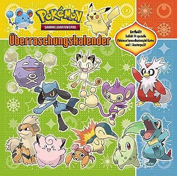 Calendrier De Lavent Pokemon 2020.Pokemon 25681 Calendrier De L Avent Amazon Fr Jeux Et Jouets