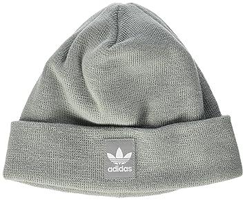 0c3add27 adidas Logo Beanie Hat, Unisex, Logo, Mgh Solid Grey/White, OSFM ...