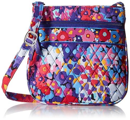 Vera Bradley Petite Double Zip Hipster Cross Body Bag ... ecc90d5bfd384