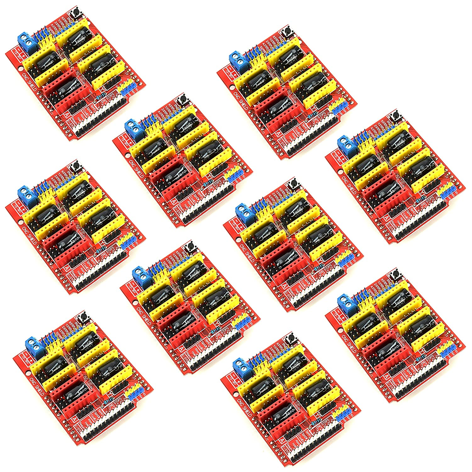 10pcs CNC Shield Board for Arduino A4988 Microstepping Motor