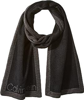 607e55f5 Calvin Klein Men's Refraction Logo Beanie, Black One Size at Amazon ...