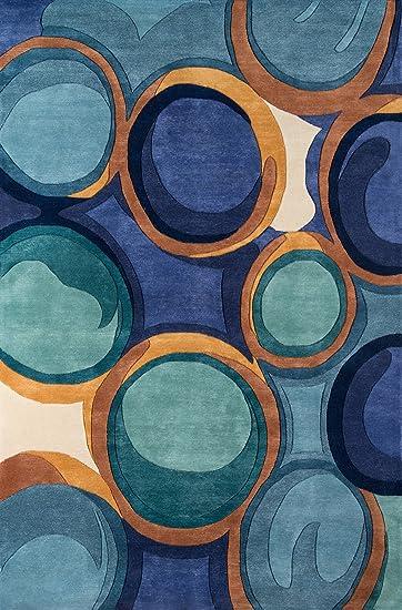 Amazon Com Momeni Rugs Newwanw133blu2030 New Wave Collection 100