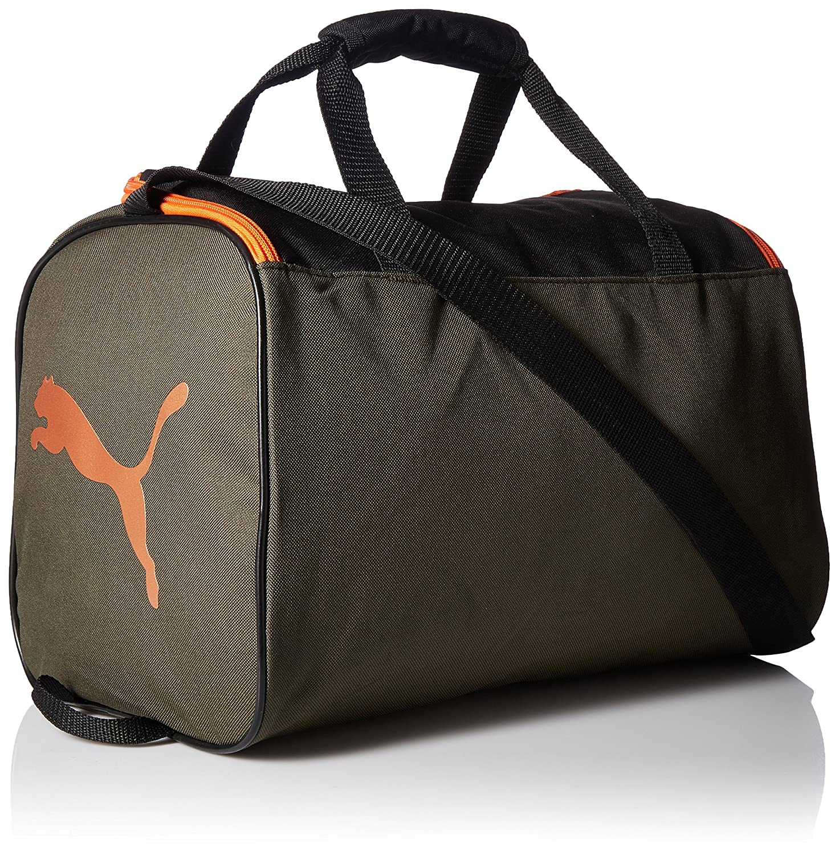 56762064b5 PUMA Big Kids' Duffel Bag, Dark Green, OS: Amazon.ca: Clothing & Accessories