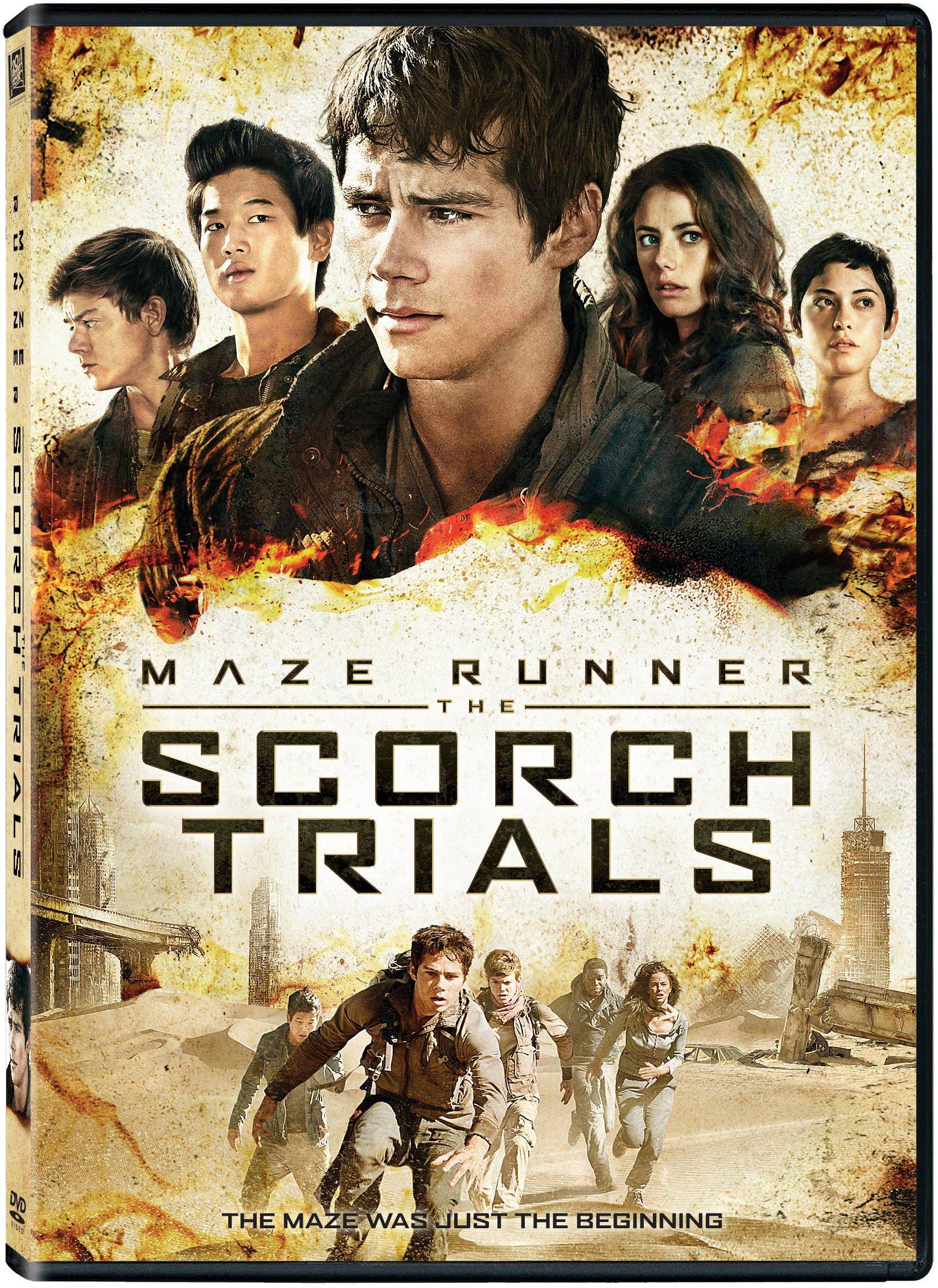 DVD : Maze Runner: The Scorch Trials (DVD)