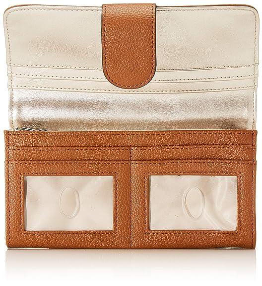 SWVG6853590 Portafoglio Donna Marrone 2x10x20 cm Portafogli