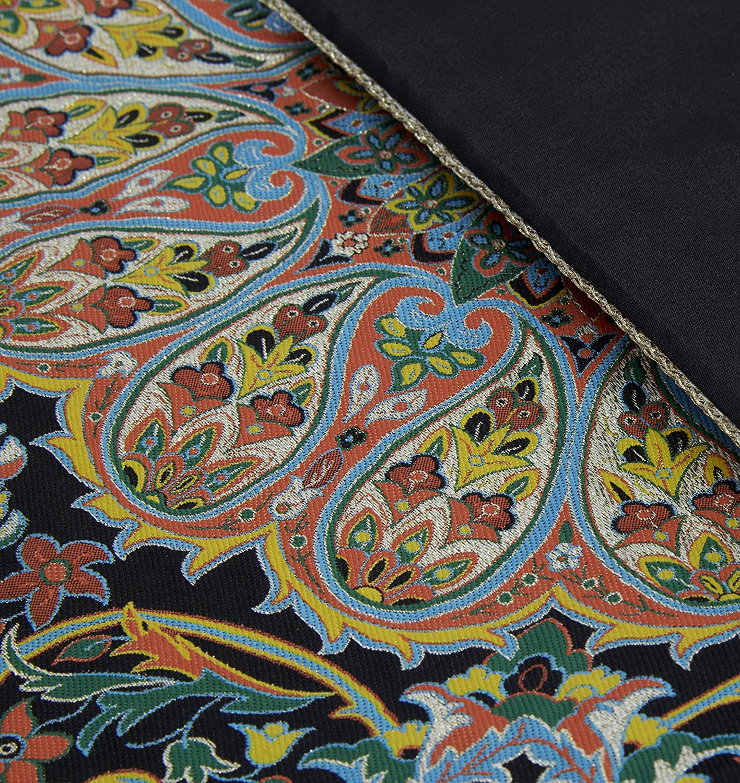 LPUK Mantel Afshari Collection Series4 Azul Oscuro 100 cm × 100 cm ...