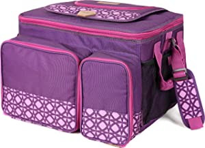 Arctic Zone Hot/Cold Insulated Collapsible Picnic Cooler, Purple