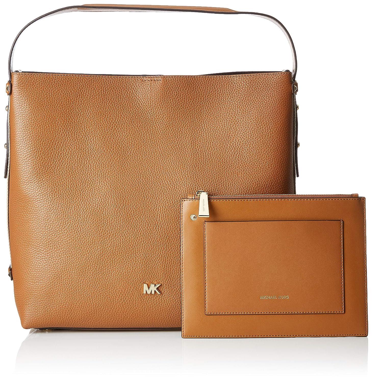 9d23d5c9a95830 Amazon.com: Michael Kors Griffin Large Hobo, Women's Shoulder Bag, Brown  (Acorn), 14x33x35.6 cm (B x H T): Shoes