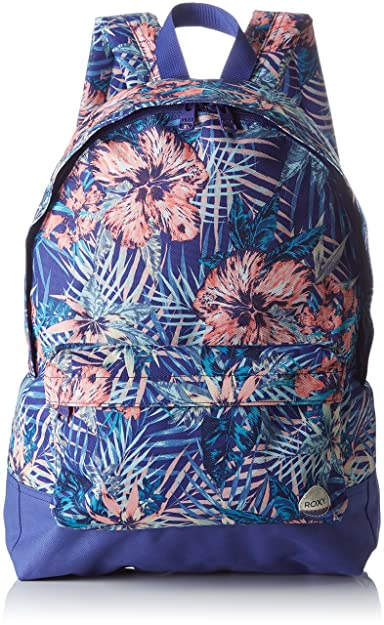 e8e88ea7e1 Roxy Women s ERJBP03406 Royal Blue Beyond Backpack Handbag Multicolour  Multicolore (Royal Blue Beyond)