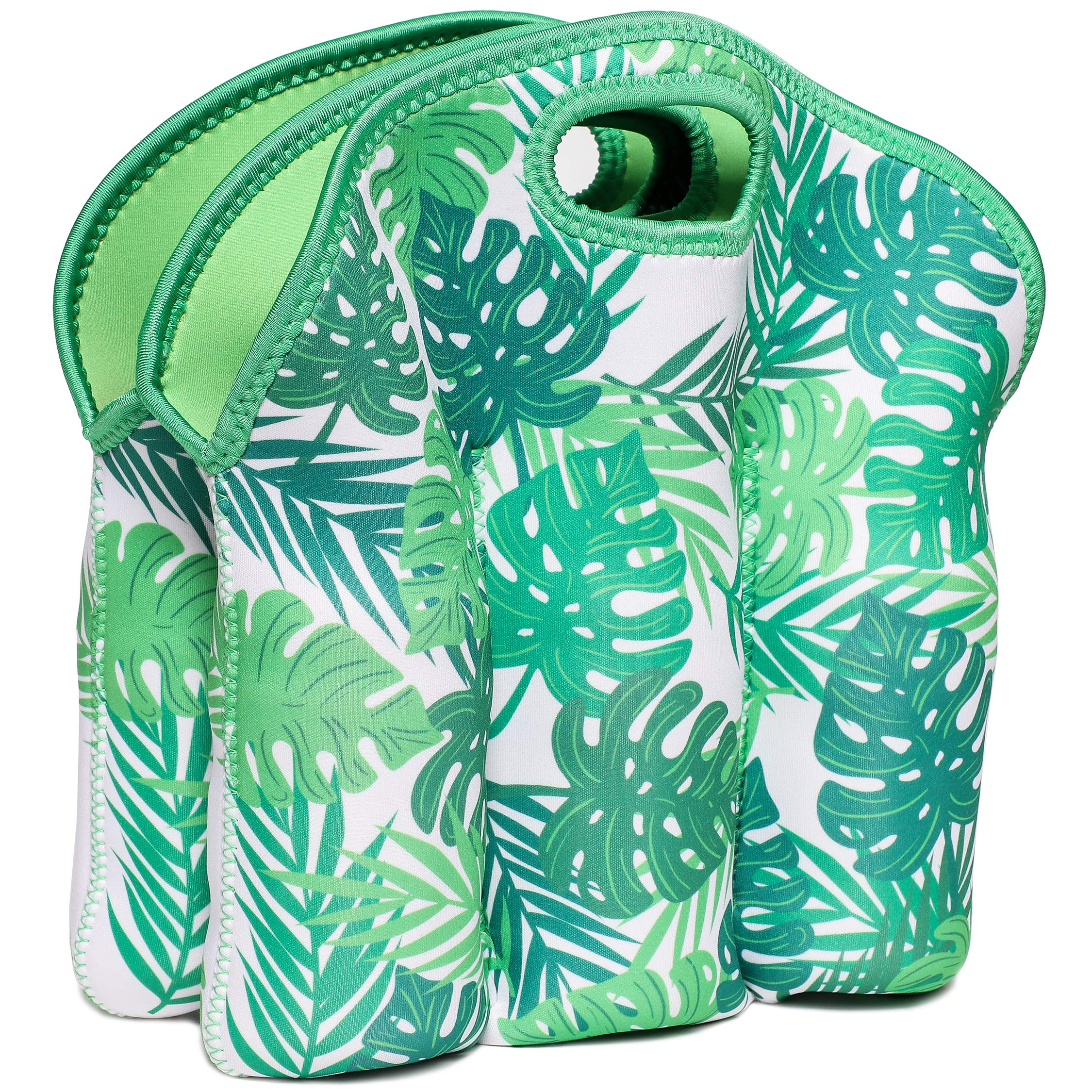 Juvale Neoprene Insulated 6-Pack Baby Bottle Cooler Carrier Tote Bag, 12.5 x 11 Inches by Juvale