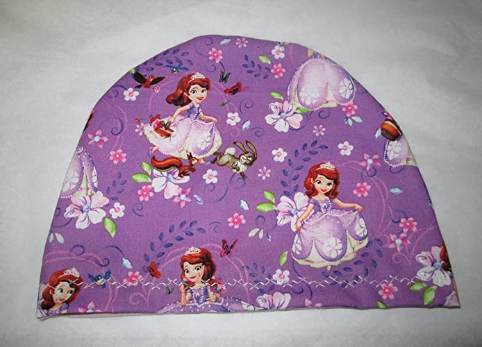 Amazon.com  Children s Kids Princess Sofia Chemo Hat Alopecia Head ... 2b26fcc9ef8f