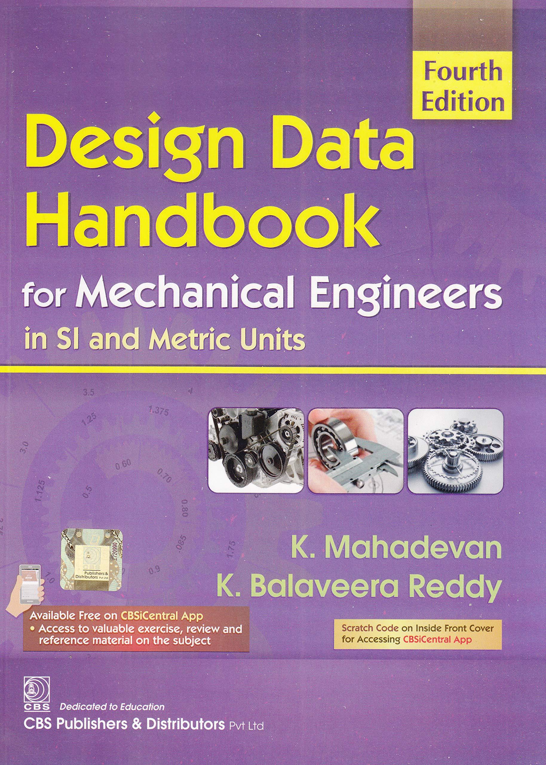 Handbook mechanical pdf data engineers