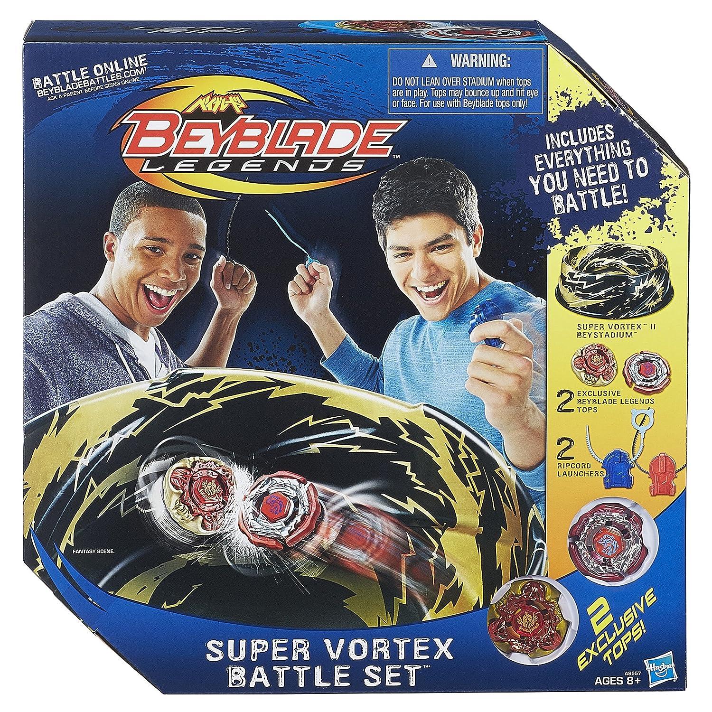 super vortex battle set beyblade metal new fusion 2 3