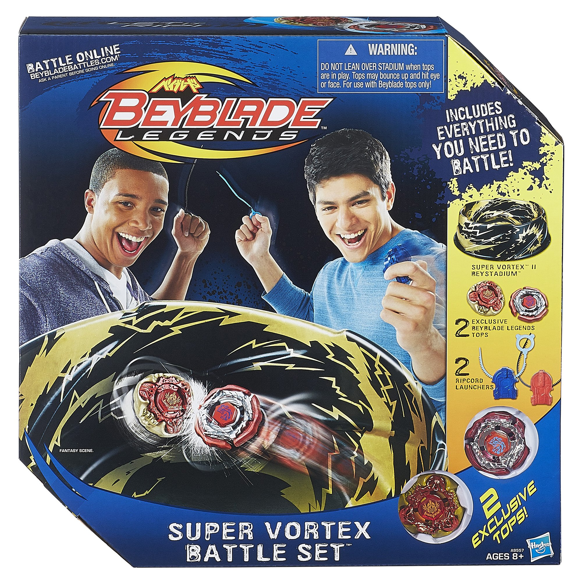 Beyblade Super Vortex Battle Set(Discontinued by manufacturer) by BEYBLADE (Image #1)