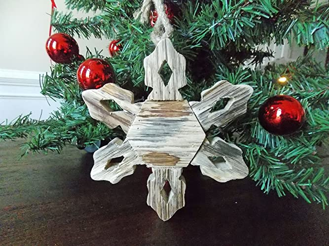 driftwood christmas snowflake ornament driftwood christmas ornaments driftwood christmas ornament coastal christmas decor - Coastal Christmas Decor