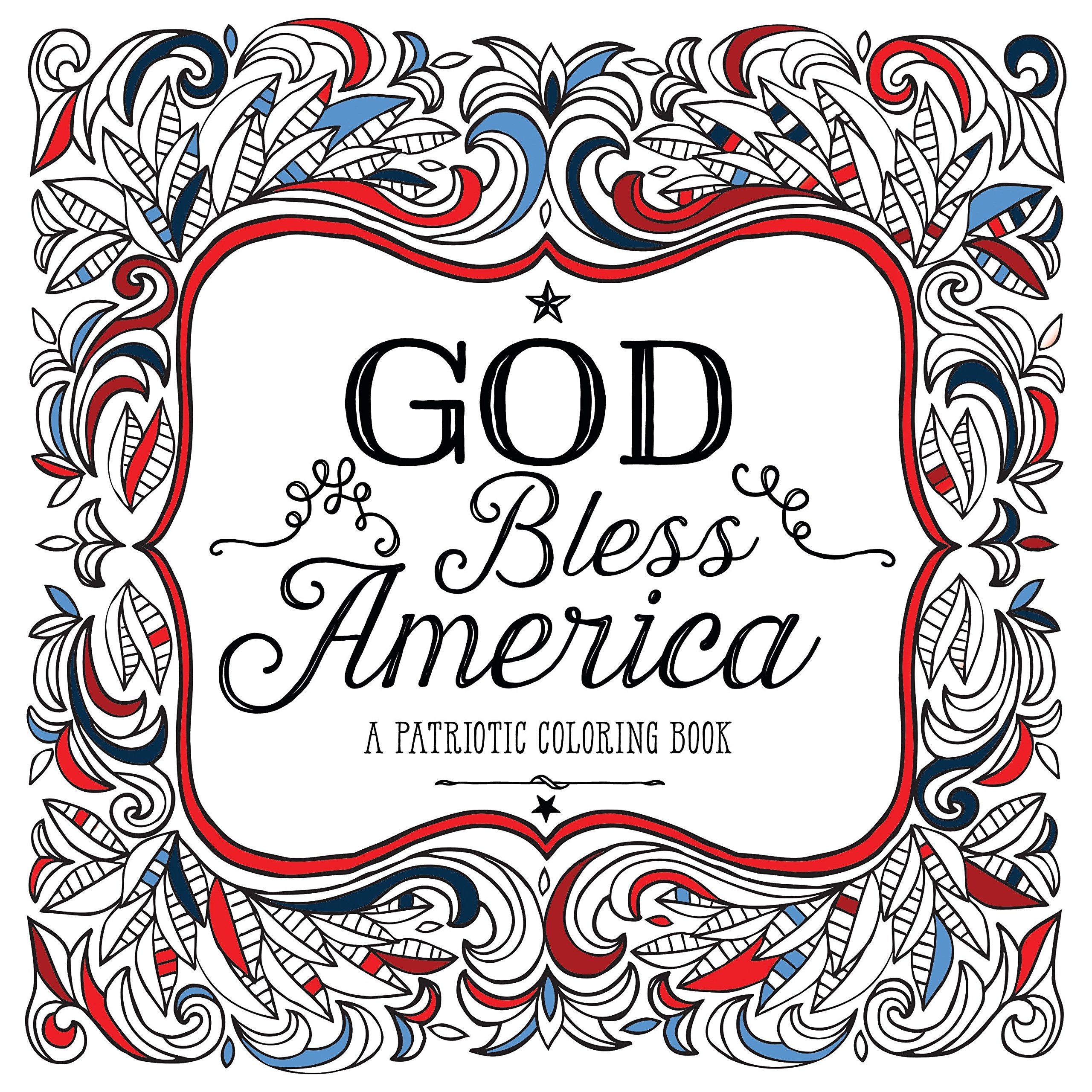 Amazon.com: God Bless America: A Patriotic Coloring Book ...