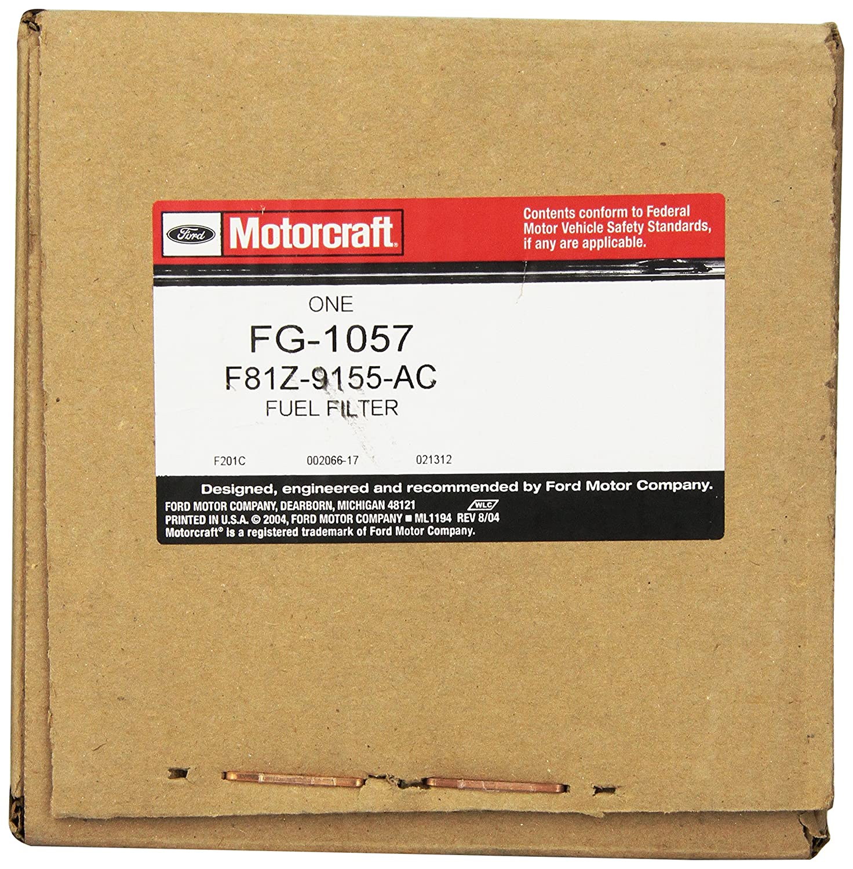 Motorcraft Fg1057 Fuel Filter Automotive 1996 F250