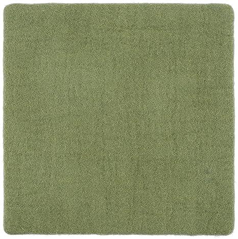 myfelt Kaspar - Cojín de Fieltro (Cuadrado, 36 x 36 cm ...