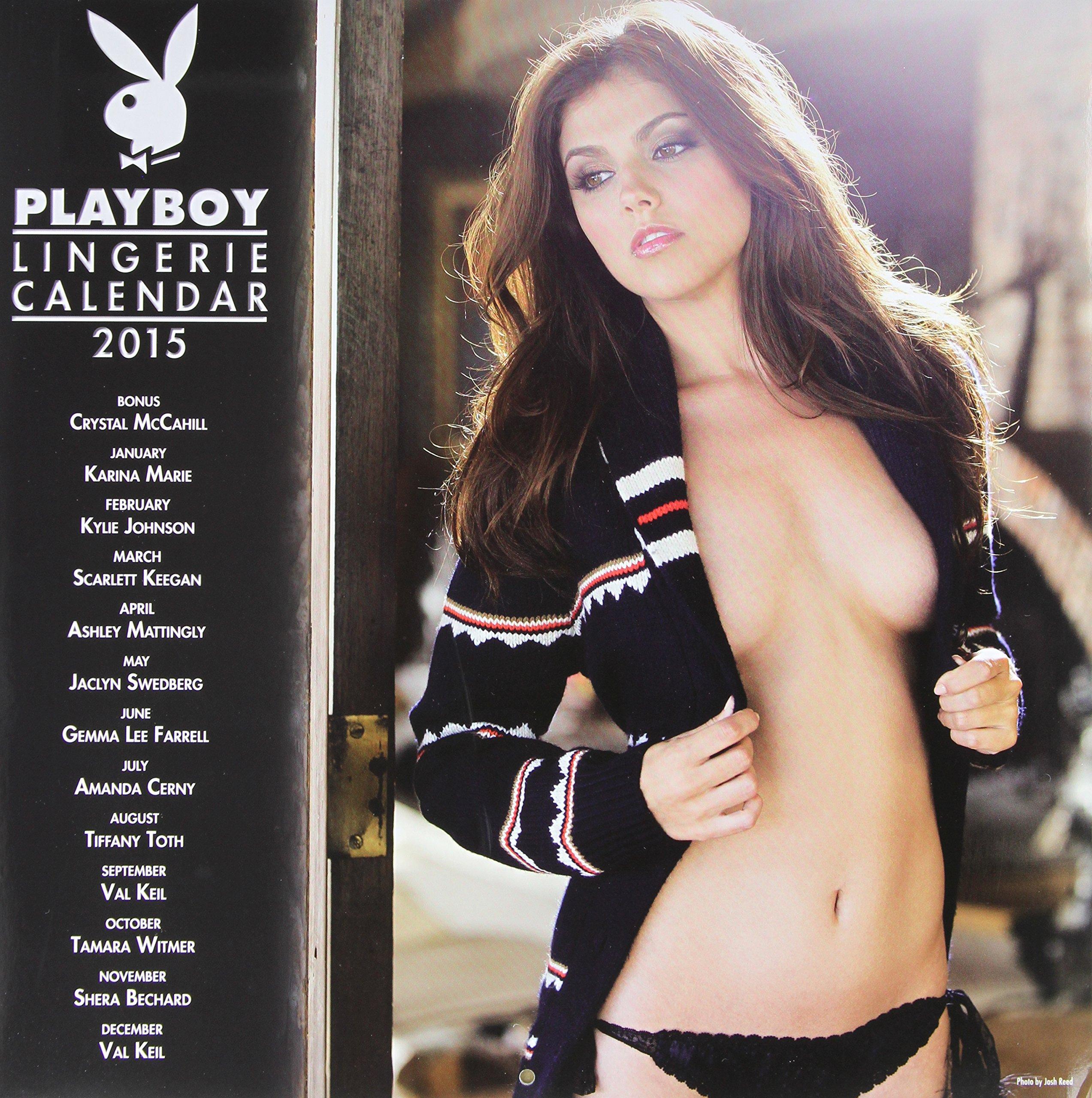 2015 Playboy Lingerie Calendar ebook