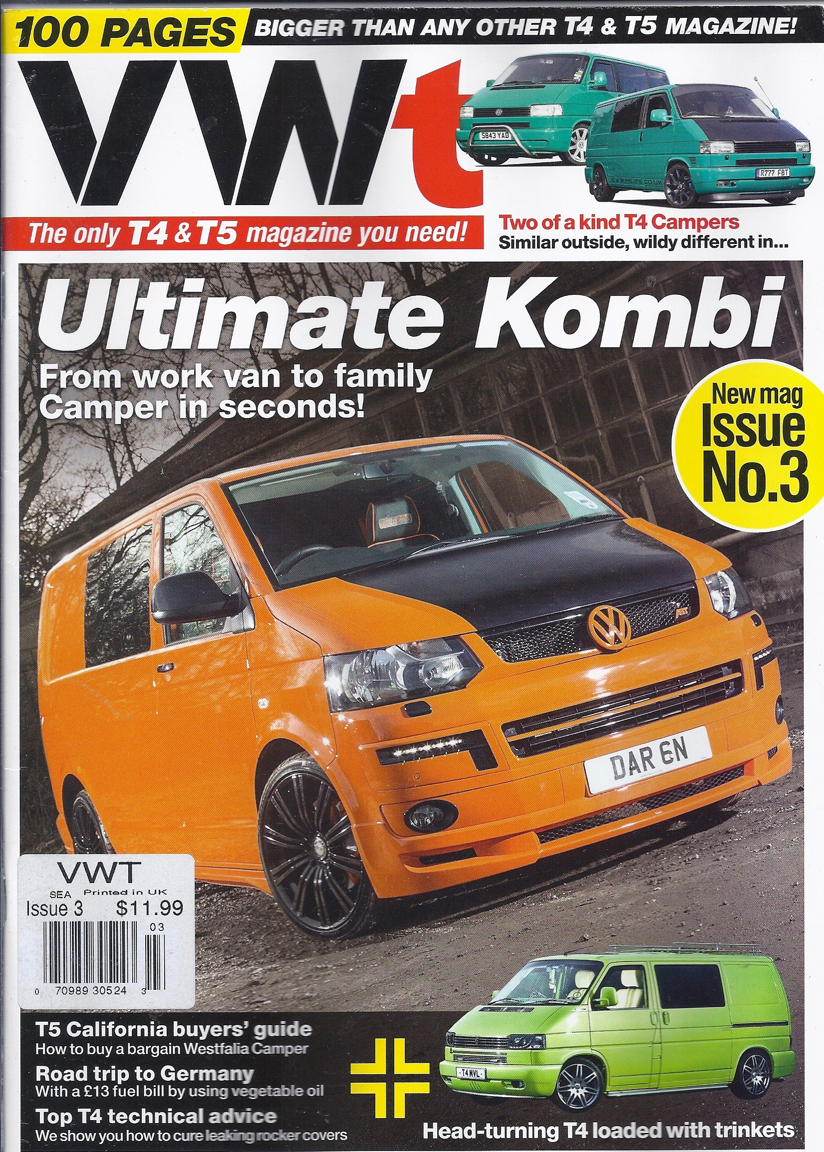 Download VWT Magazine # 3 (The Only T4 & T5 Magazine You Need,2013) pdf epub