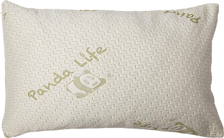 Panda Life Shredded Memory Foam Pillow-Queen