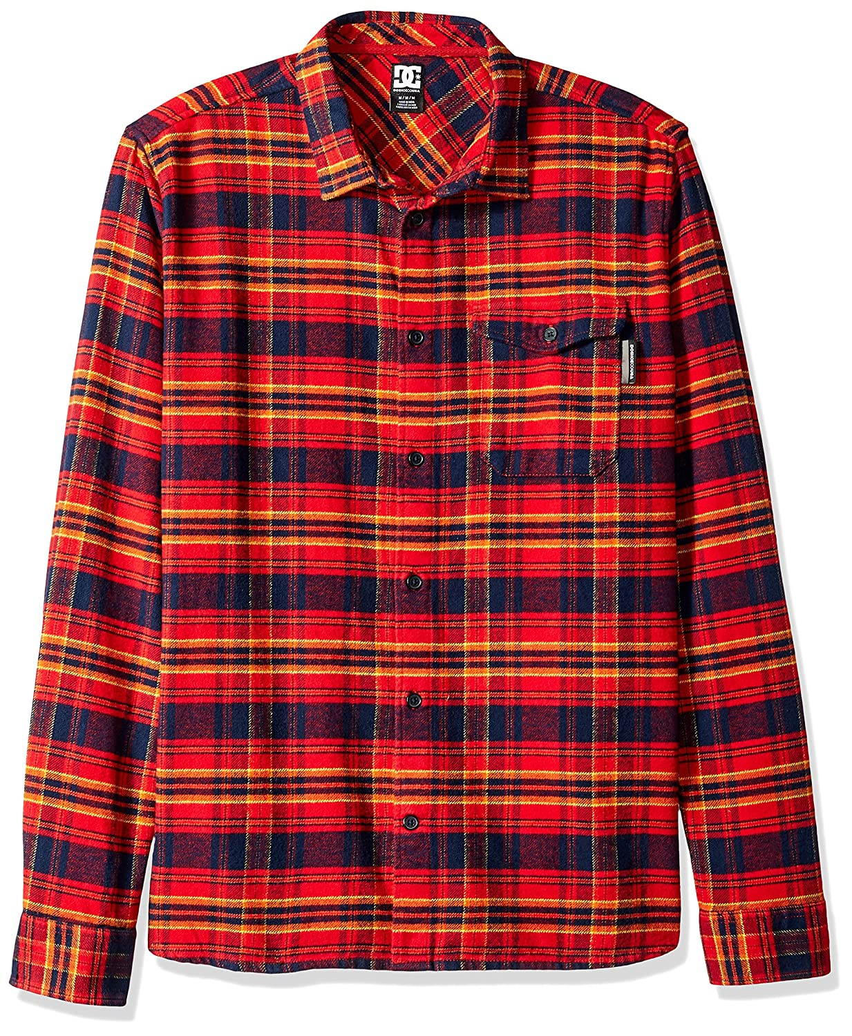 DC Men's Marsha Long Sleeve Flannel Shirt