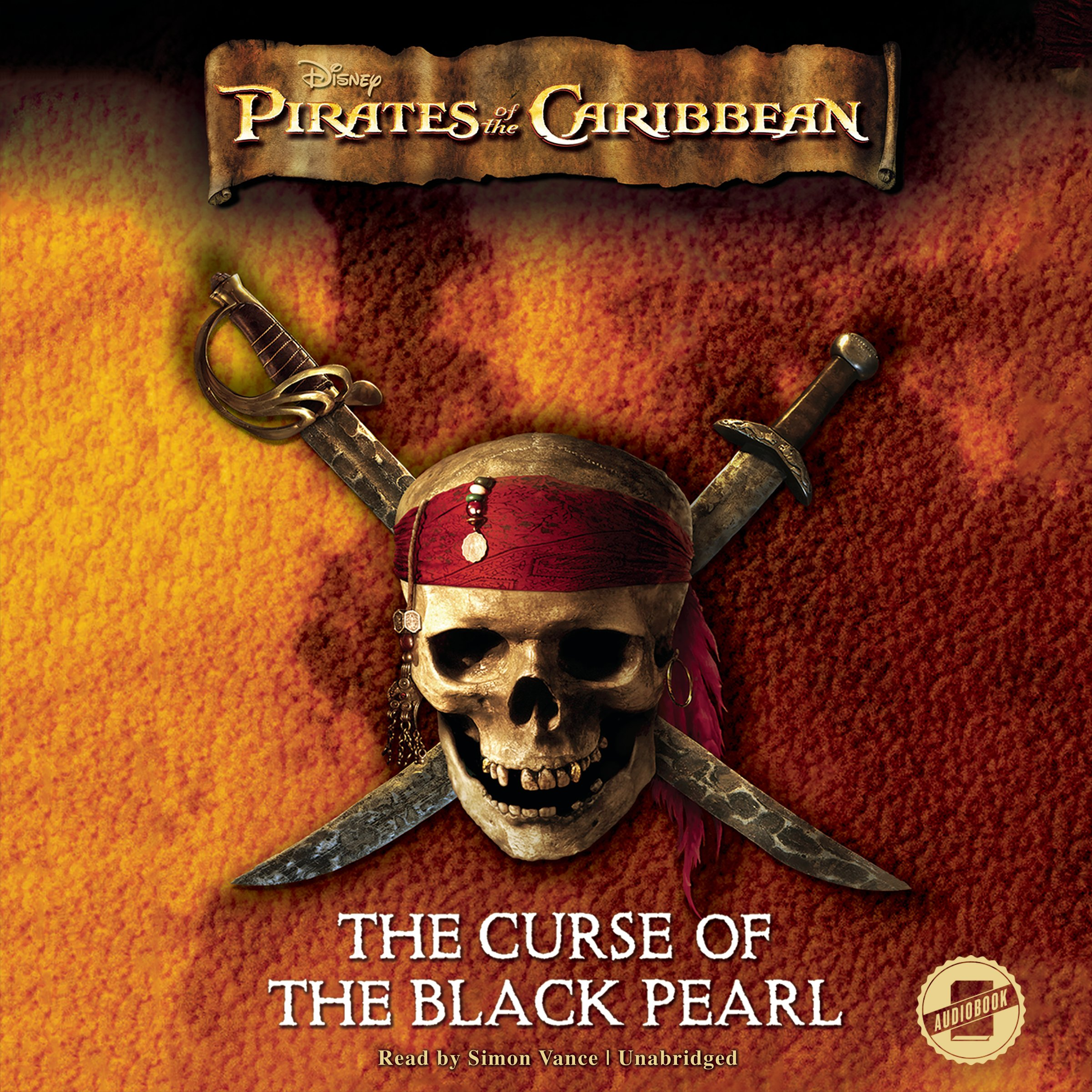 Read Online The Curse of the Black Pearl: The Junior Novelization; Library Edition (Pirates of the Caribbean) PDF