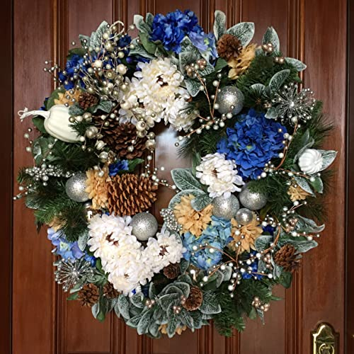 large christmas wreath elegant holiday wreath holiday beach wreath xl christmas wreath - Elegant Christmas Wreaths