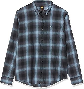 Lee Button Down Plus Size Camisa para Hombre: Amazon.es: Ropa y accesorios