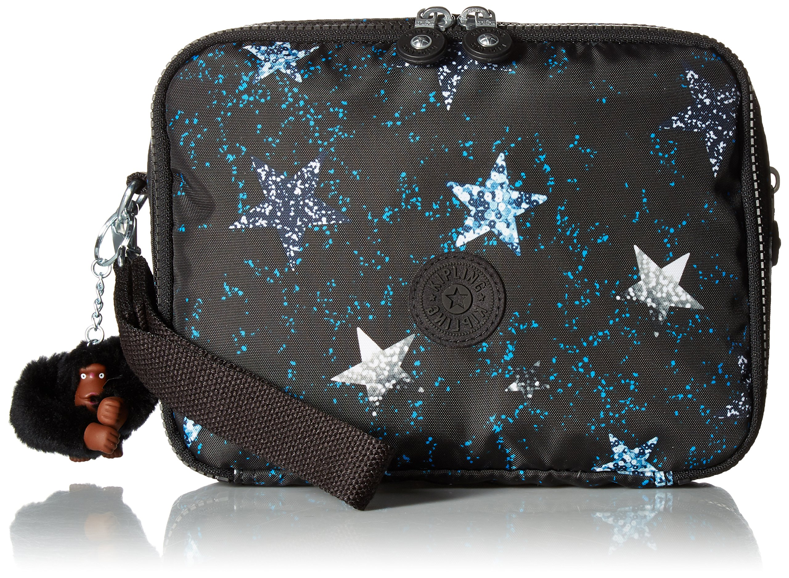 Kipling Zimma Printed Baby Changing Pouch, Discmirror