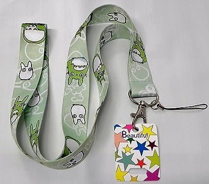 Amazon.com: Japonés Totoro cordón para MP3, teléfono celular ...