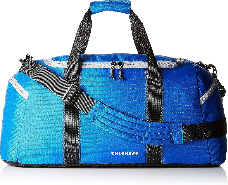 Chiemsee Duffle Medium Sports Bag Dark Green//Black Green Black New