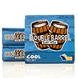 Double Barrel Surf Wax - Cool Water - 3 Pack