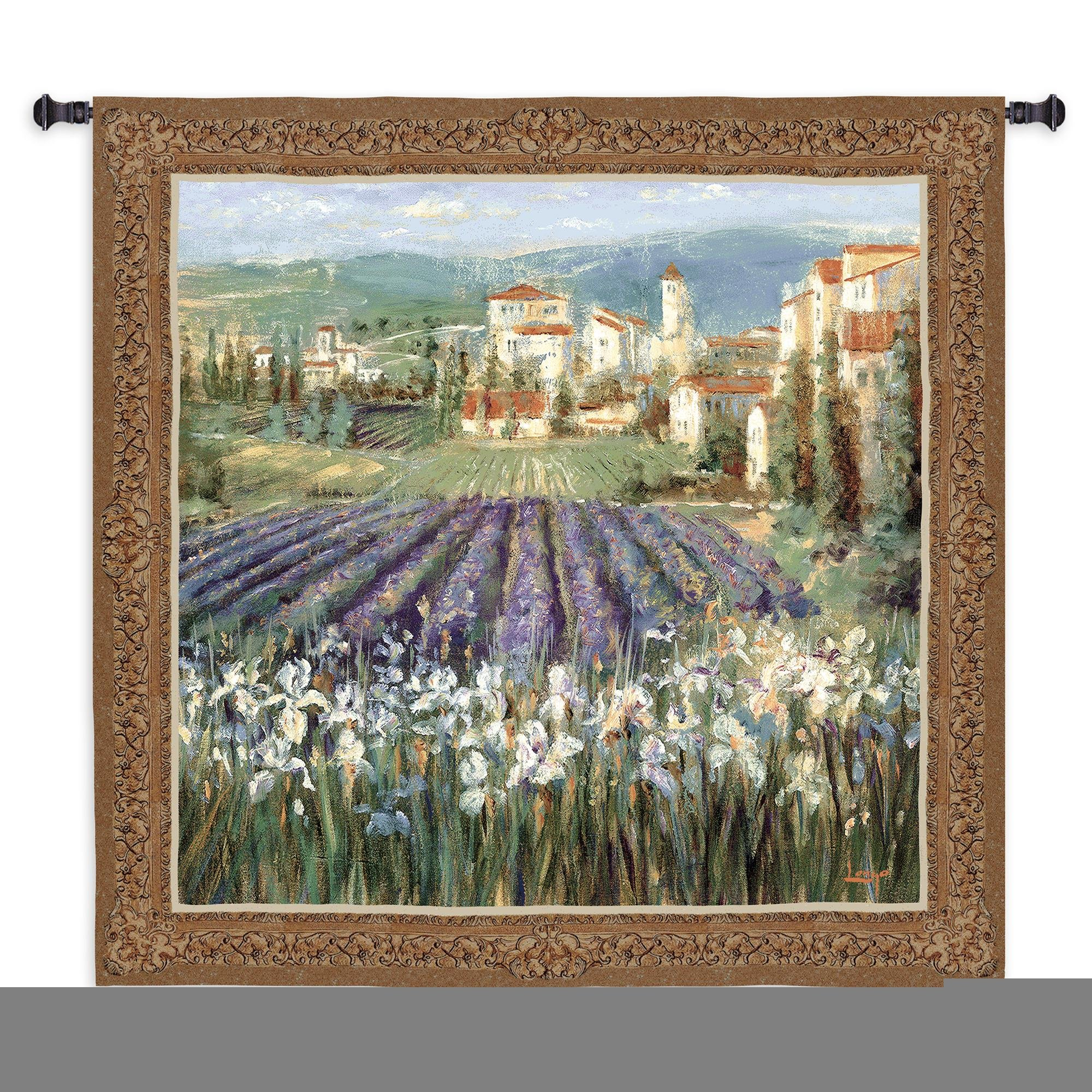Fine Art Tapestries ''Provencal Village'' Wall Tapestry
