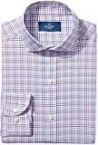 Buttoned Down Men's Slim Fit Pattern Non-Iron Dress Shirt (3 Collars Available)