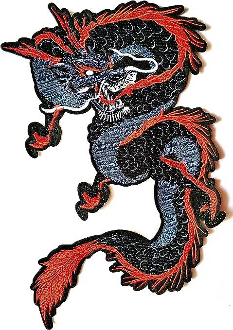 Parches para disfraz o regalo de Dragón japonés chino de tamaño ...