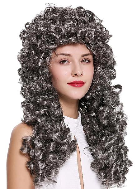 WIG ME UP ® - B17-2P-B-44 peluca de mujer hombre Barroco ...