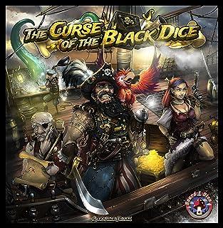 Polish Publishing League 53903–The Curse Of The Black Dice–Gioco da tavolo–Inglese/Tedesco/polacco