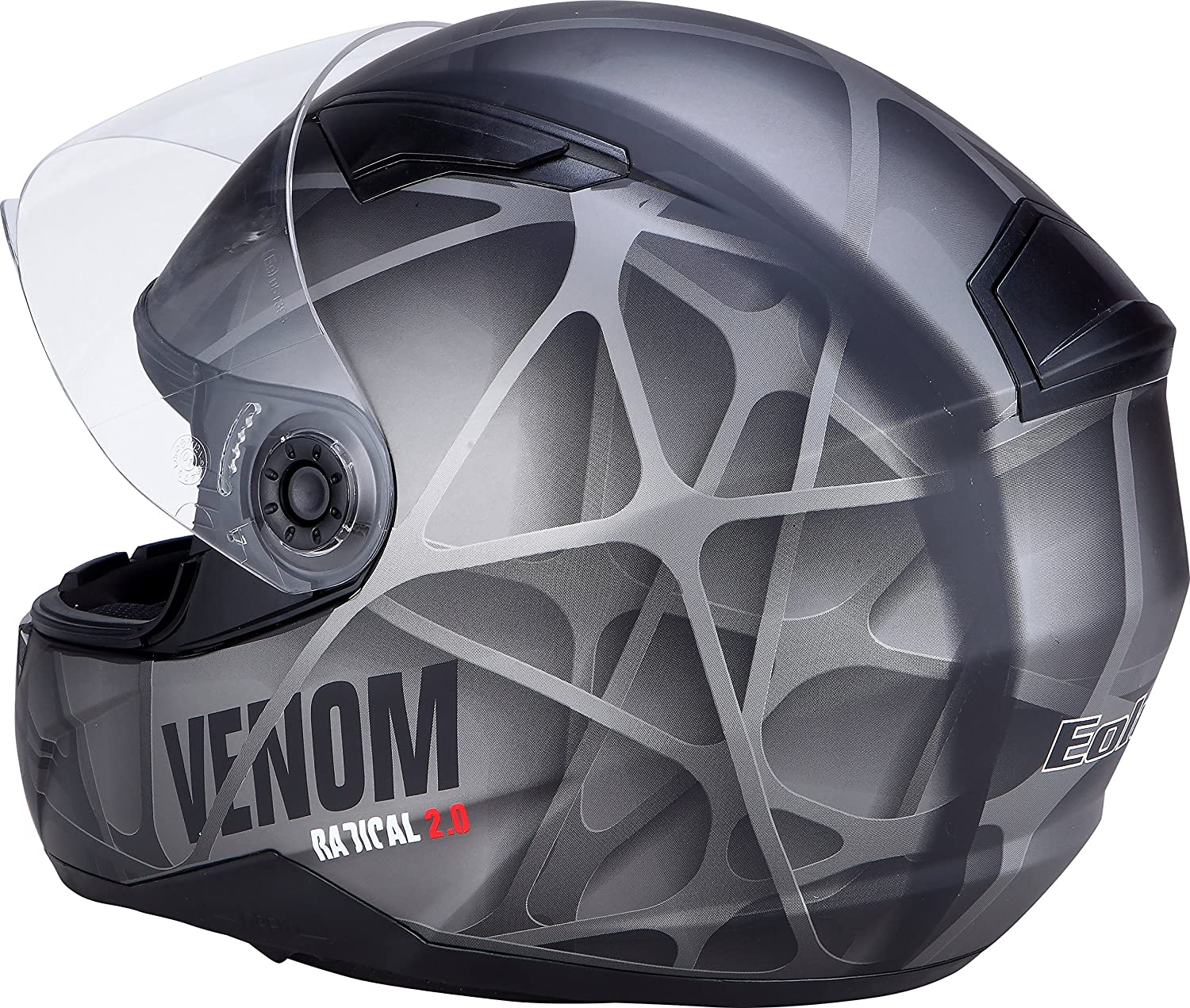Amazon.es: EOLE casco integral DS Venom, gris, talla XL