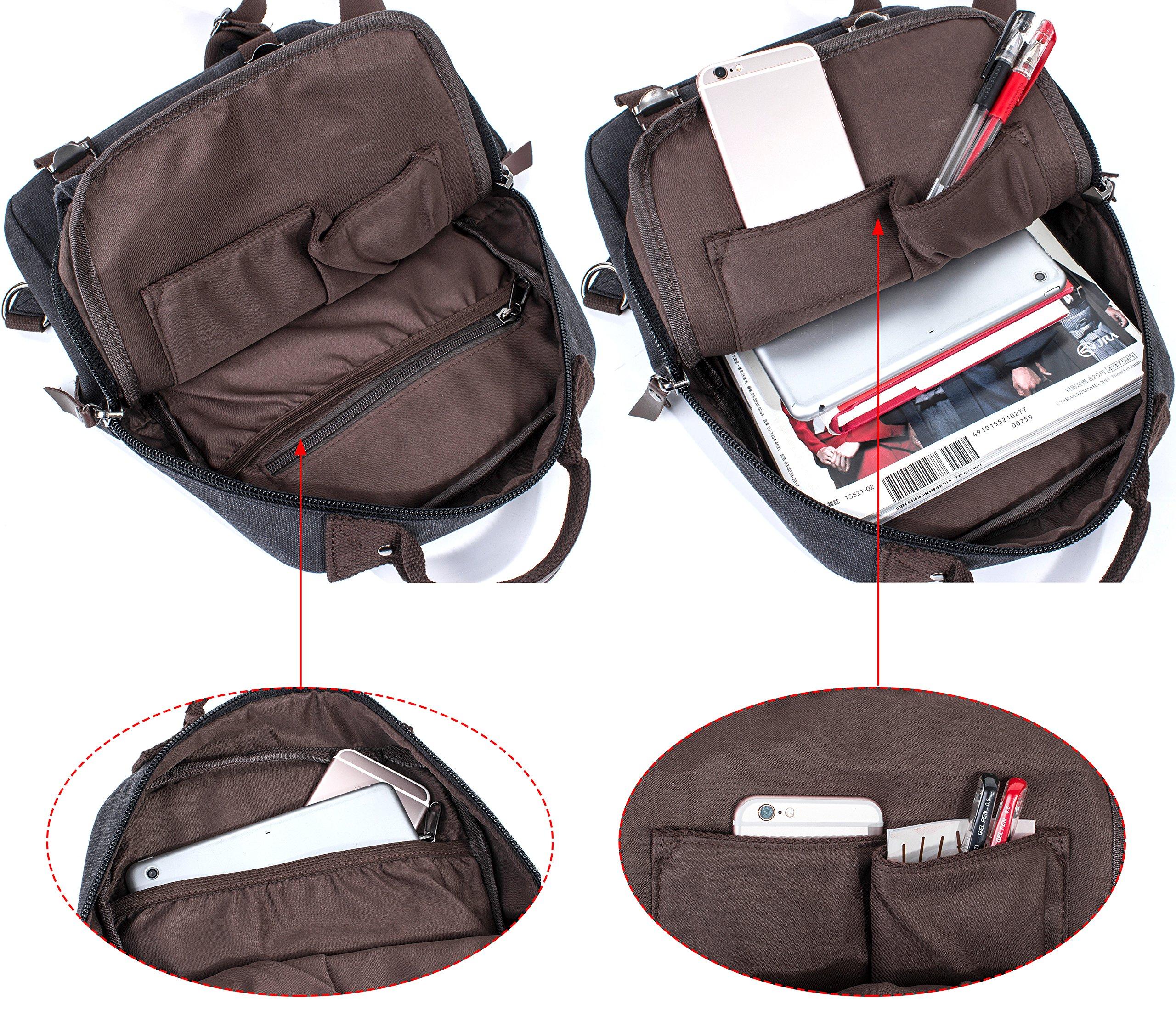 f38457e534 Leaper Canvas Message Sling Bag Outdoor Cross Body Bag Messenger Shoulder  Bag (Medium