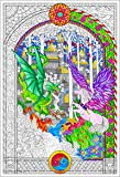 The Key - Giant Coloring Poster (32½ x 22 Inches) - Great for Kids, Adults, Classrooms, Care Facilities and Families