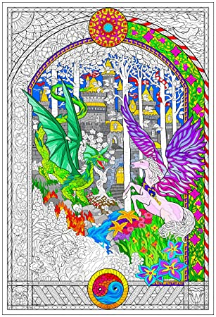 Amazon.com: The Key - Giant Coloring Poster (32½ x 22 Inches ...
