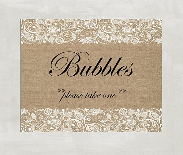 photograph regarding Wedding Sign Printable named : Bubbles Indicator - Bubbles Marriage Signal - Wedding day