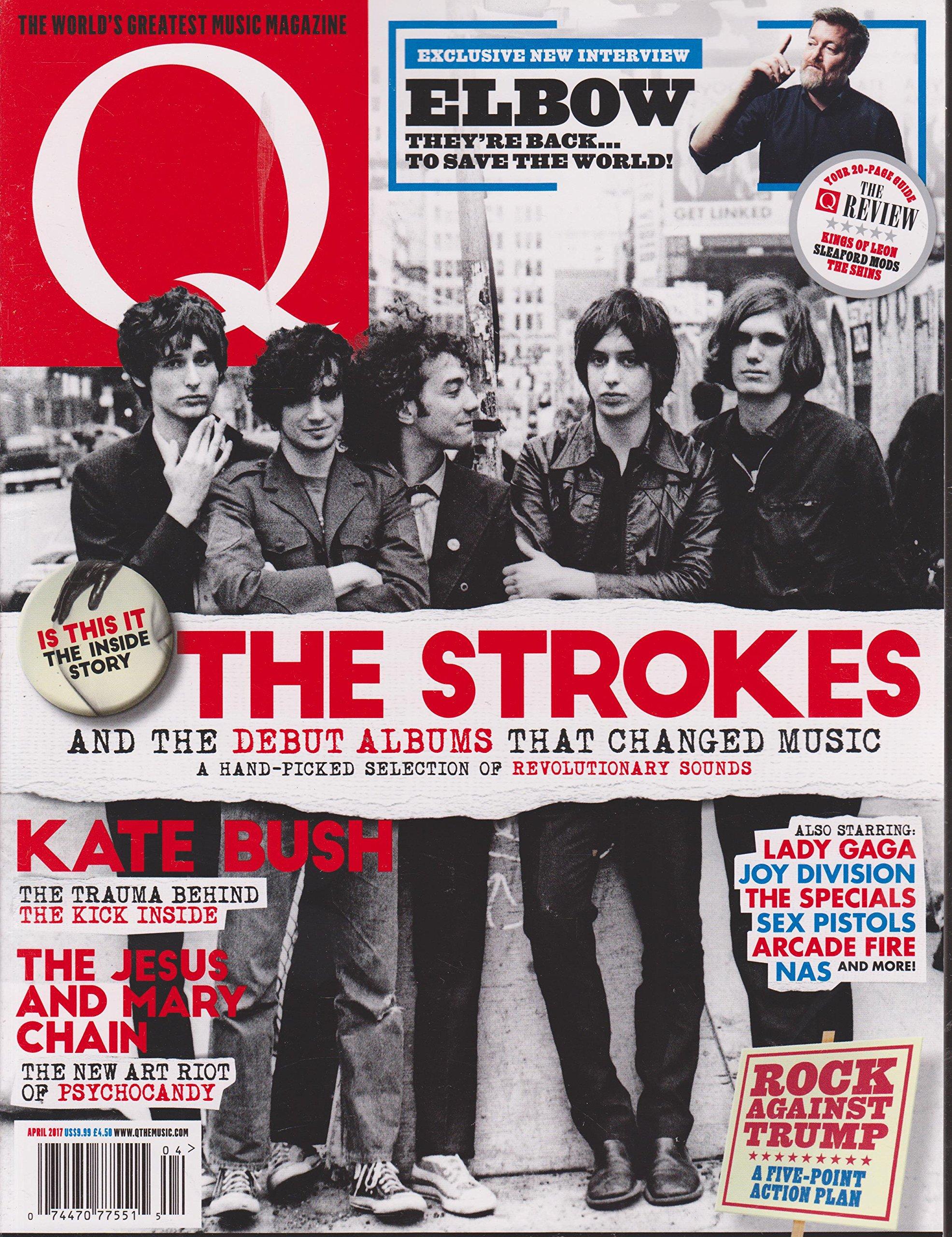 Q Magazine (April, 2017) The Strokes Cover: Amazon.com: Books