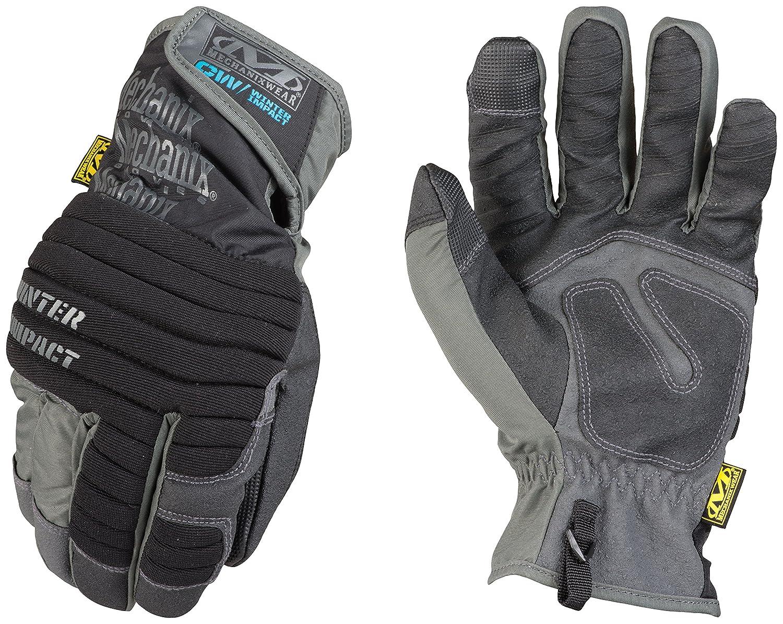 Mechanix Wear - Guantes de impacto de invierno (Medio, Negro/Gris) MCW-WA-009